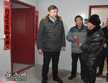 王志节到天堂镇督查指导雨雪冰冻天气防范应对工作