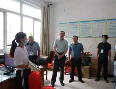 汪云波督导县城区保障性租赁住房专项整治工作